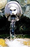 Greece _ Crete _ Spili _ The fountain with Lions
