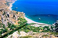 Greece _ Crete _ Preveli Beach