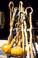 Greece _ Crete _ Walking sticks _ Souvenirs