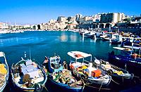 Greece _ Crete _ H&#233;raklion Port
