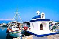 Greece _ Crete _ Small fishing port of Kastelli