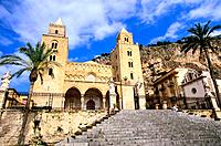 Italy _ Sicily _ Cefalù _ Dome