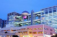 Japan _ Tokyo _ Odaiba District _ Fuji TV Building
