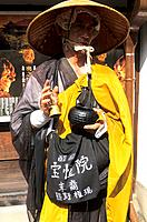 Japan _ Kyoto _ Higashiyama District _ Friar who begs