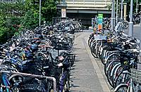Japan _ The west of Honshu _ Osaka _ Bicycle parking