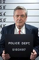 Mug shot of a businessman