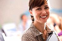 Businesswoman, smiling, portrait