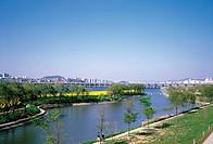 Seocho_gu,Han River,Seoul,Korea