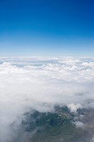 Cloudscape, elevated view