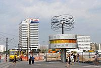 Berlin, World Clock, Alexander square
