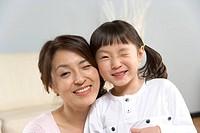 Mom and Daughter,Korea