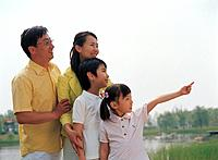 Korean Family in the Park