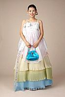 Young Korean Woman in Hanbok,Korean Traditional Costume