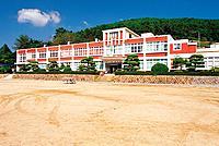 Sangju Middle School,Namhae Island,Gyeongnam,Korea
