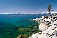 The east shore of Lake Tahoe in Nevada