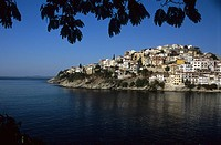 View of the town, Kavala, Macedonia East