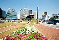 NamdaemunSouth Gate,Jung_gu,Seoul,Korea
