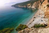 Halikiada, view, Agistri, Saronic Gulf, Greece