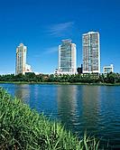 Seokchon Lake,Jamsil,Songpa_gu,Seoul,Korea