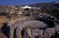 Cyclades, Tinos Volax, rock formations