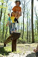 Children, climbs, activity, movement,