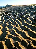 Stovepipe Wells Sand Dunes.Death Valley National Park.California. Usa