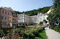 Karlovy Vary. West Bohemia, Czech Republic
