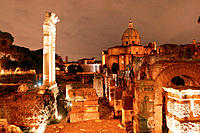 Roman forum. Rome. Italy