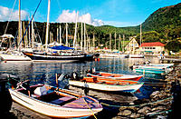 Harbour. Basse Terre. Guadeloupe. West Indies, France
