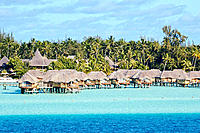 Lagoon, Bora Bora, Leeward Islands. French Polynesia, South Pacific