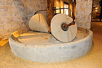 Old olive oil mill, oil museum of Hacienda La Laguna near Baeza. Jaén province, Spain