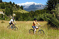 Biking. Chile