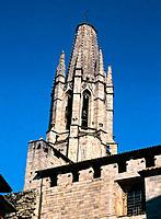 Sant Feliu Church. Girona. Spain