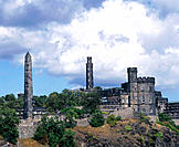 Calton Hill. Edinburgh. Scotland