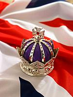 Crown on British Flag