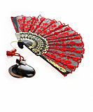 Castanets and fan (thumbnail)