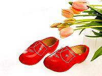 Clogs and tulips
