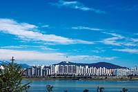 Yongsan_gu,Hangang River,Seoul,Korea