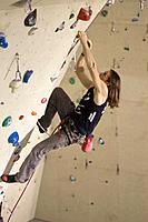 Free climbing, indoor climbing, climbing, indoors, extreme, sports, Sportscenter, Sportscentre, artificial climbing wa