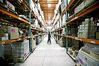 Man Working in Warehouse (thumbnail)