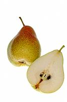 Pear and sliced pear