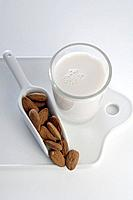 Organic almond milk