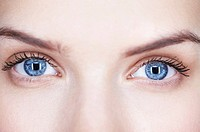 Close_up of woman´s eyes