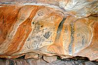 Australia : Flinders Ranges _ rock painting