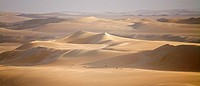 Sand dunes in desert, Great Sand Sea, Siwa Oasis, Libyan Desert, Egypt
