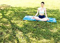 Woman doing yoga