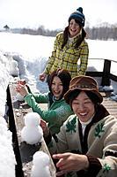 Making snowmen