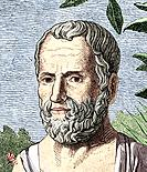 Theophrastus of Lesbos c.371_c.287 BC, Ancient Greek philosopher. Known as the insfather of botanyins, Theophrastus studied with Plato in Athens and t...