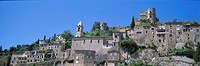 France, Provence, Drome, village of Montbrun