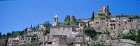 France, Provence, Drome, village of Montbrun